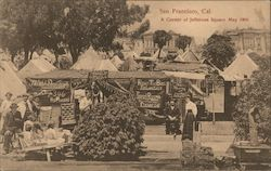 A Corner of Jefferson Square, May 1906 Postcard