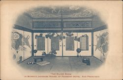 The Silver Room in Marsh's Japanese House at Fairmont Hotel