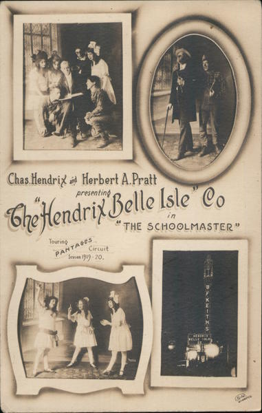 The Hendrix Belle Isle Co in The Schoolmaster Theatre