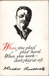 When You Play, Play Hard. When You Work, Don't Play At All.