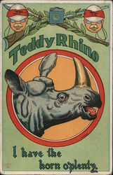Teddy Rhino I Have the Horn O'Plenty