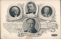 Political Card of Roosevelt Supporting President Taft