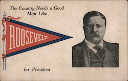 The Country Needs a Good Man Like Roosevelt for President