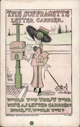 The Suffragette Letter Carrier