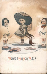 Would I win your vote? Postcard