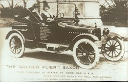 """The Golden Flier"" Saxon Tour Throughout 25 States of Good Old U.S.A."