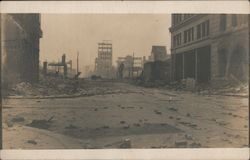 1906 - After the Earthquake and Fire Postcard