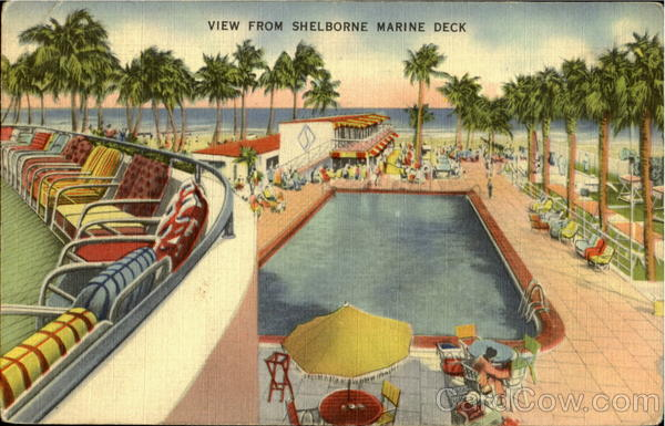 Shelborne Hotel Miami Florida