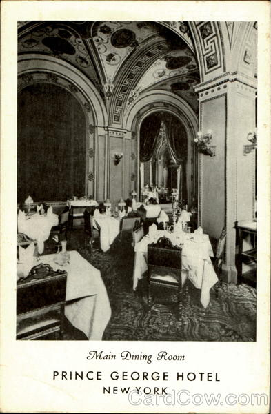 Prince George Hotel, 14 E. 28th Street New York City