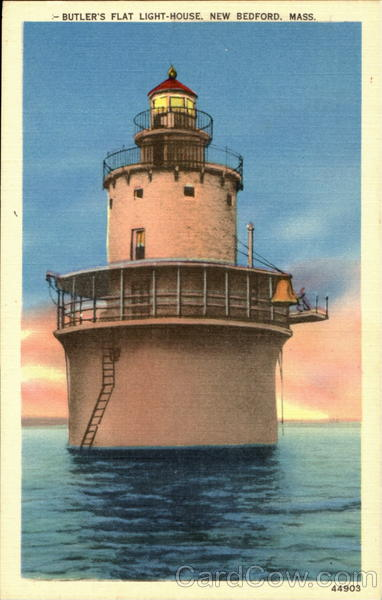 Butler's Flat Light House New Bedford Massachusetts