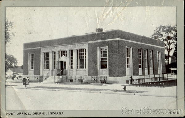 Post Office Delphi Indiana