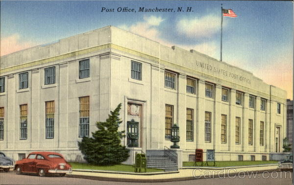 Post Office Manchester New Hampshire