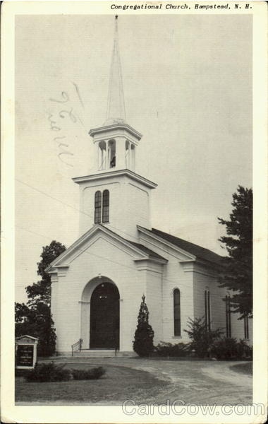 Congregational Church Hampstead  New Hampshire