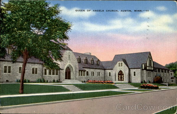 Queen Of Angels Church Austin Minnesota