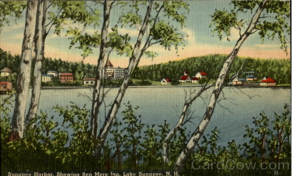 Sunapee Harbor Lake Sunapee New Hampshire