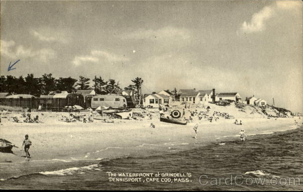 The Waterfront At Grindell's Dennisport Cape Cod Massachusetts