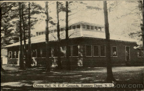 Dining Hall Rumney Depot New Hampshire