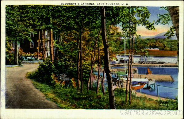 Blodgett's Landing , Lake Sunapee New Hampshire