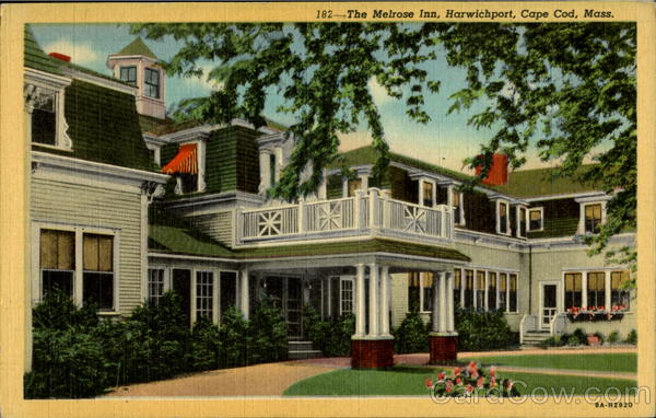 The Melrose Inn, Harwichport Cape Cod Massachusetts