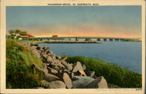 Padanaram Bridge So. Dartmouth Massachusetts