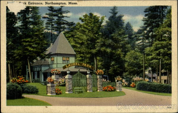 Laurel Park Entrance Northhampton Massachusetts