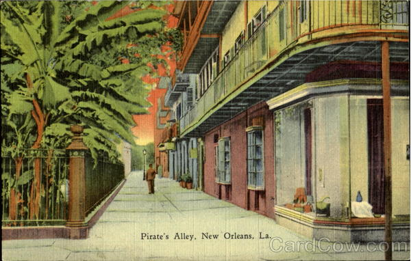 Pirate's Alley New Orleans Louisiana