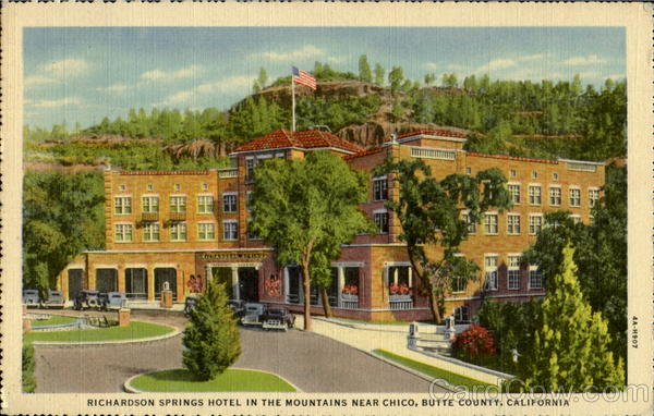 Richardson Springs Hotel Chico California