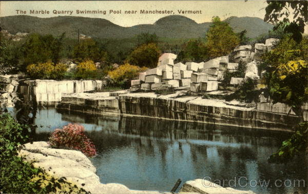 The Marble Quarry Swimming Pool Manchester Vt