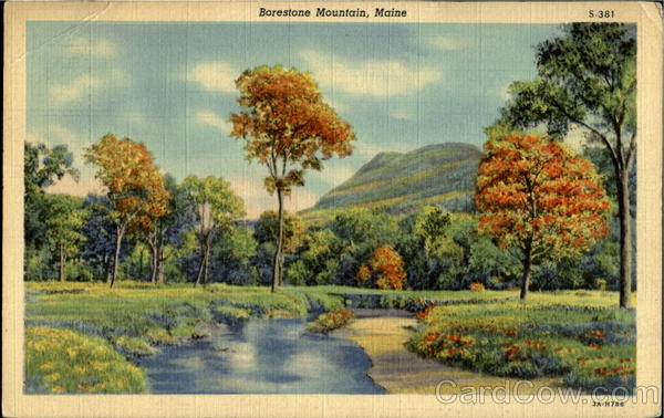 Borestone Mountain Maine