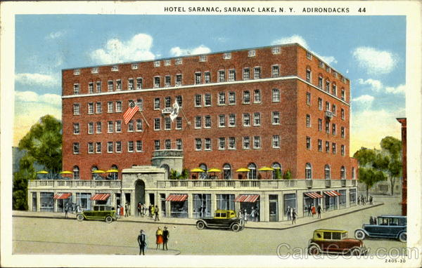 Hotel Saranac Lake New York