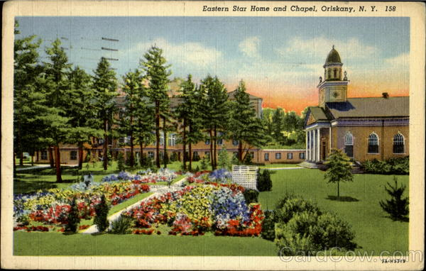 Eastern Star Home And Chapel Oriskany New York