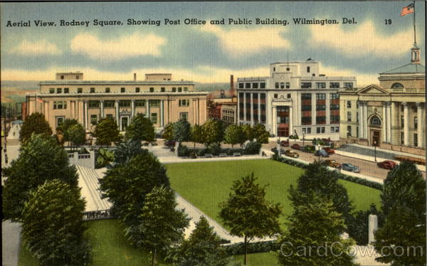 Post Office And Public Building, Rodney Square Wilmington Delaware