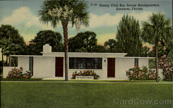 Rotary Club Boy Scouts Headquarters Sarasota Florida