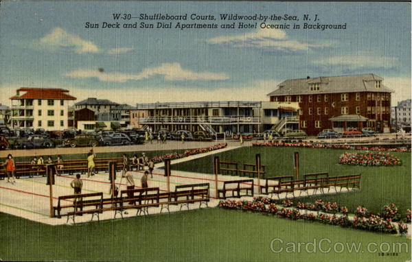 Shuffleboard Courts Wildwood-by-the-Sea New Jersey