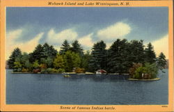 Mohawk Island And Lake Winnisquam