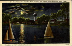 Moonlight On Vermilion River