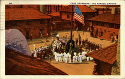 Fort Dearborn The Parade Ground