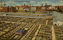 Union Stock Yards Postcard