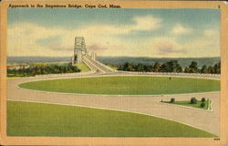 Approach To The Sagamore Bridge