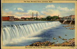 The Dam Merrimac River