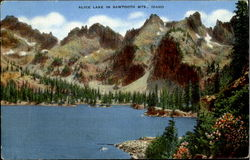 Alice Lake In Sawtooth Mts