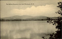 The Belknap Mountains From Lake Winnisquam