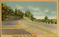 Greetings From Troy Postcard