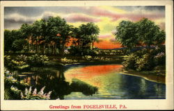 Greetings From Fogelsville Postcard