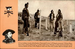 Crow Indian scouts