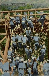 Commando Training , U. S. Naval Training Station