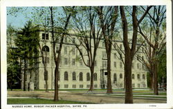 Nurses Home Robert Packer Hospital