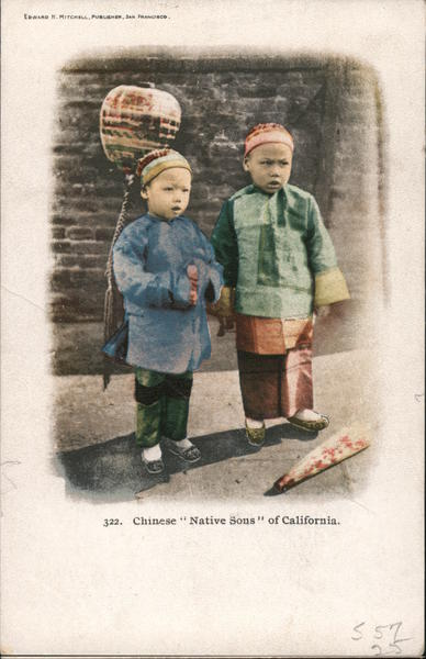 Chinese Native Sons of California Asian