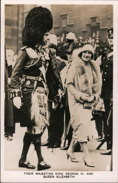 Their Majesties King George VI, and Queen Elizabeth