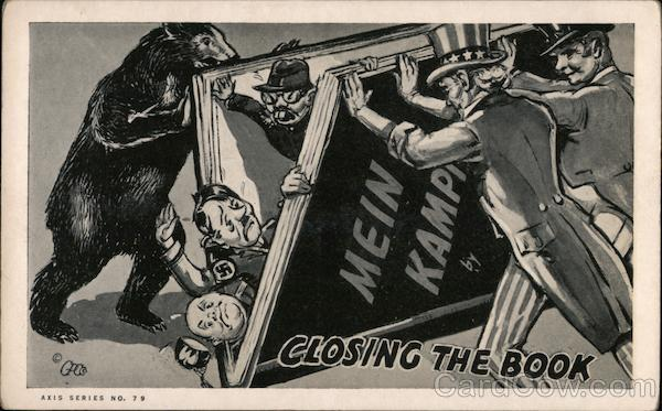 Closing the Book--Mein Kamp Propaganda